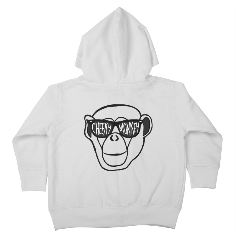 Cheeky Monkey Kids Toddler Zip-Up Hoody by Frank and Elizabeth Myers Photograpy