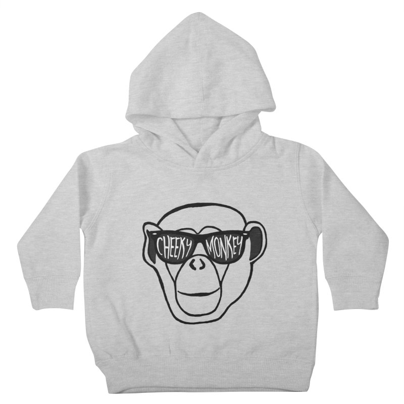 Cheeky Monkey Kids Toddler Pullover Hoody by Frank and Elizabeth Myers Photograpy