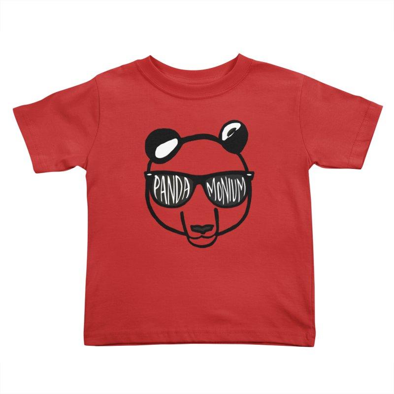 Pandamonium Kids Toddler T-Shirt by Frank and Elizabeth Myers Photograpy