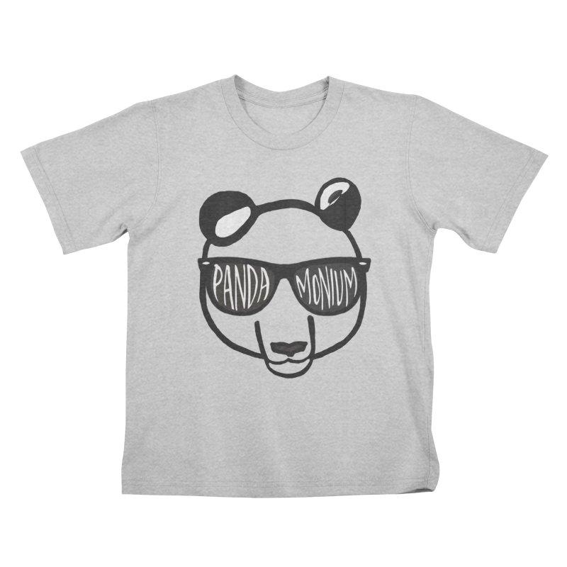 Pandamonium Kids T-Shirt by Frank and Elizabeth Myers Photograpy