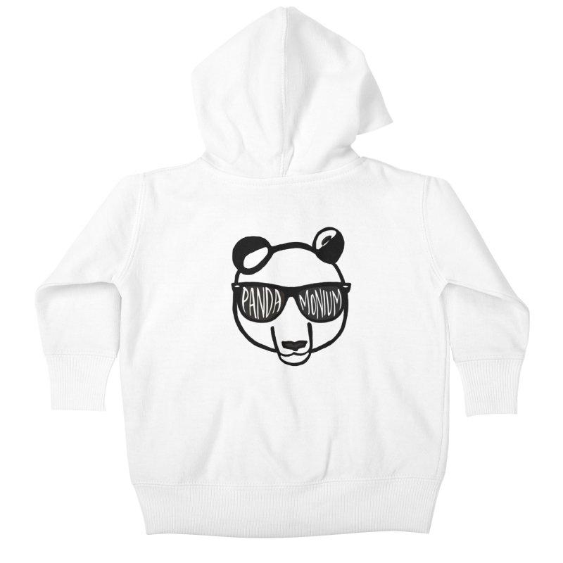 Pandamonium Kids Baby Zip-Up Hoody by Frank and Elizabeth Myers Photograpy
