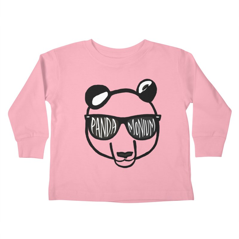 Pandamonium Bibi's Zoo Toddler Longsleeve T-Shirt by Frank and Elizabeth Myers Photograpy