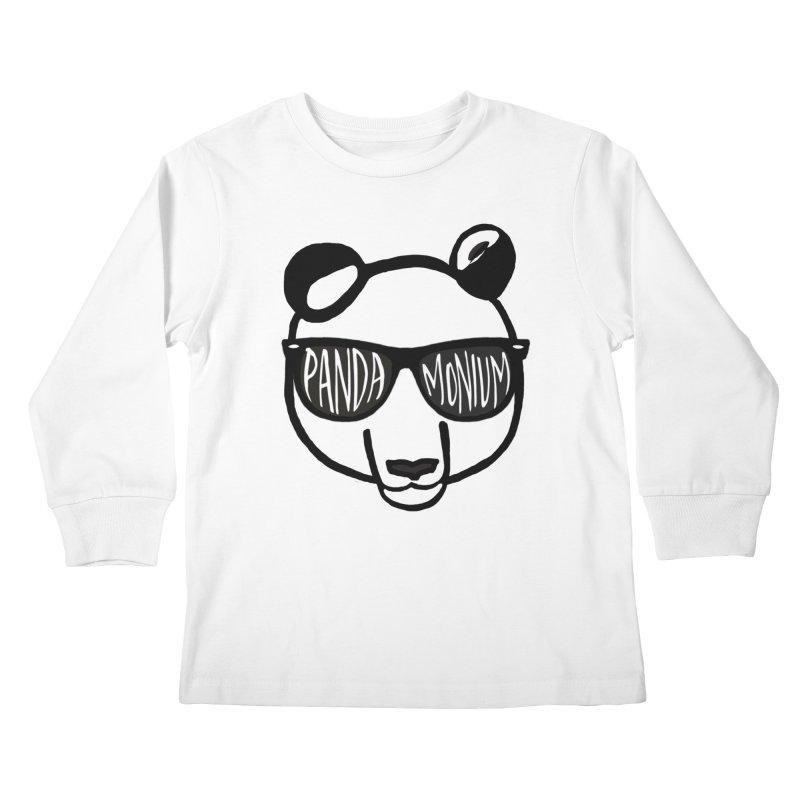 Pandamonium Kids Longsleeve T-Shirt by Frank and Elizabeth Myers Photograpy