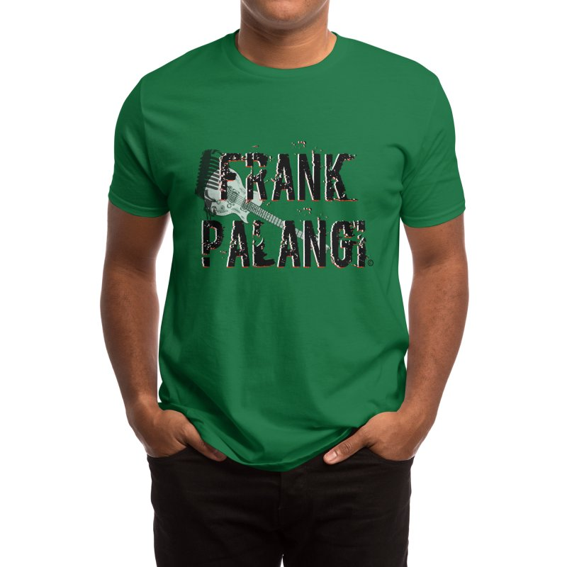Frank Palangi Text Logo 1 Men's T-Shirt by Frank Palangi's Artist Shop