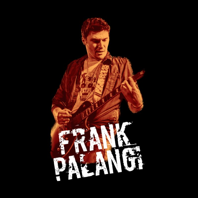 Frank Palangi (RED) Men's T-Shirt by Frank Palangi's Artist Shop