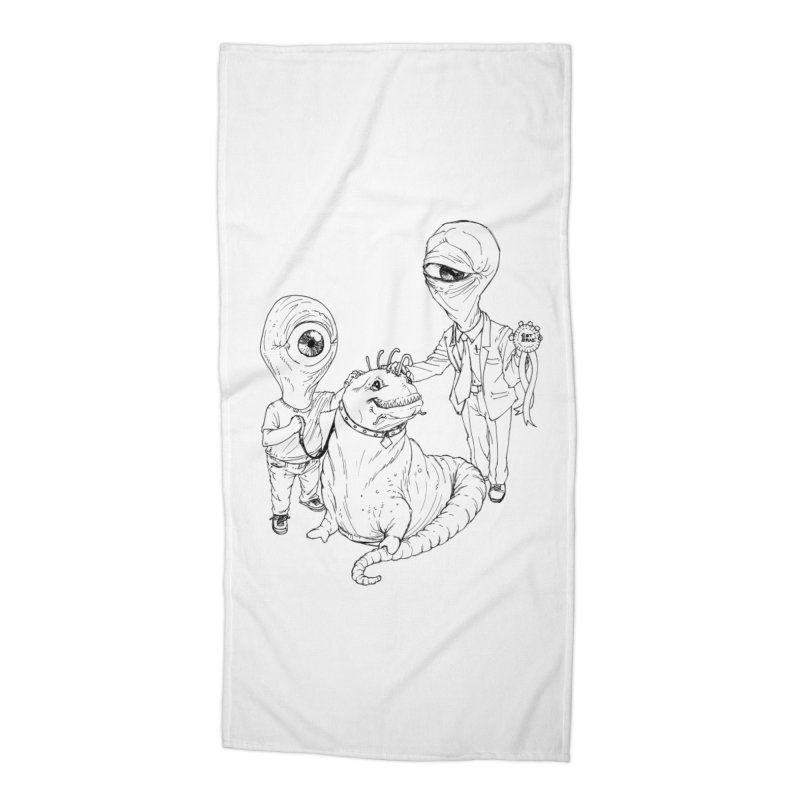 Beast in show Accessories Beach Towel by Franky Nieves Shop