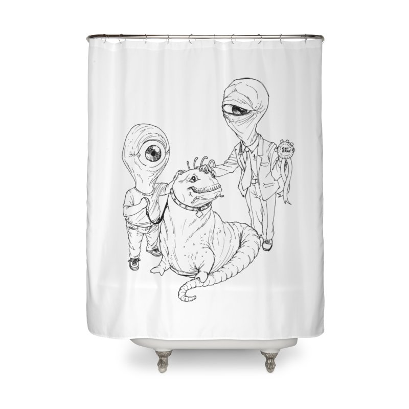 Beast in show Home Shower Curtain by Franky Nieves Shop