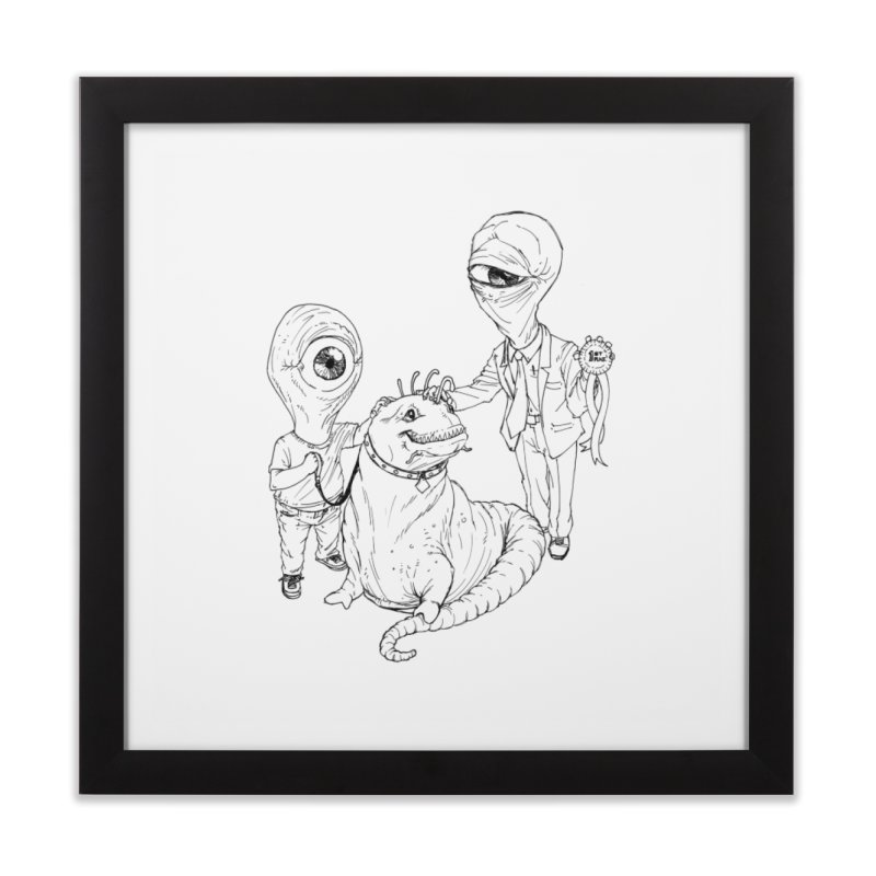 Beast in show Home Framed Fine Art Print by Franky Nieves Shop