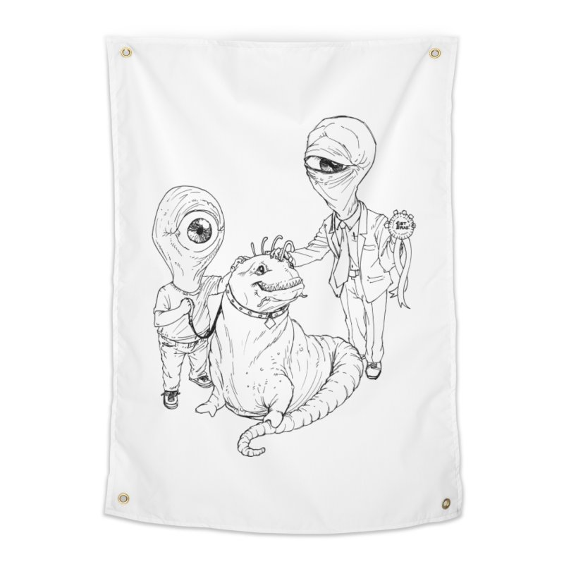 Beast in show Home Tapestry by Franky Nieves Shop