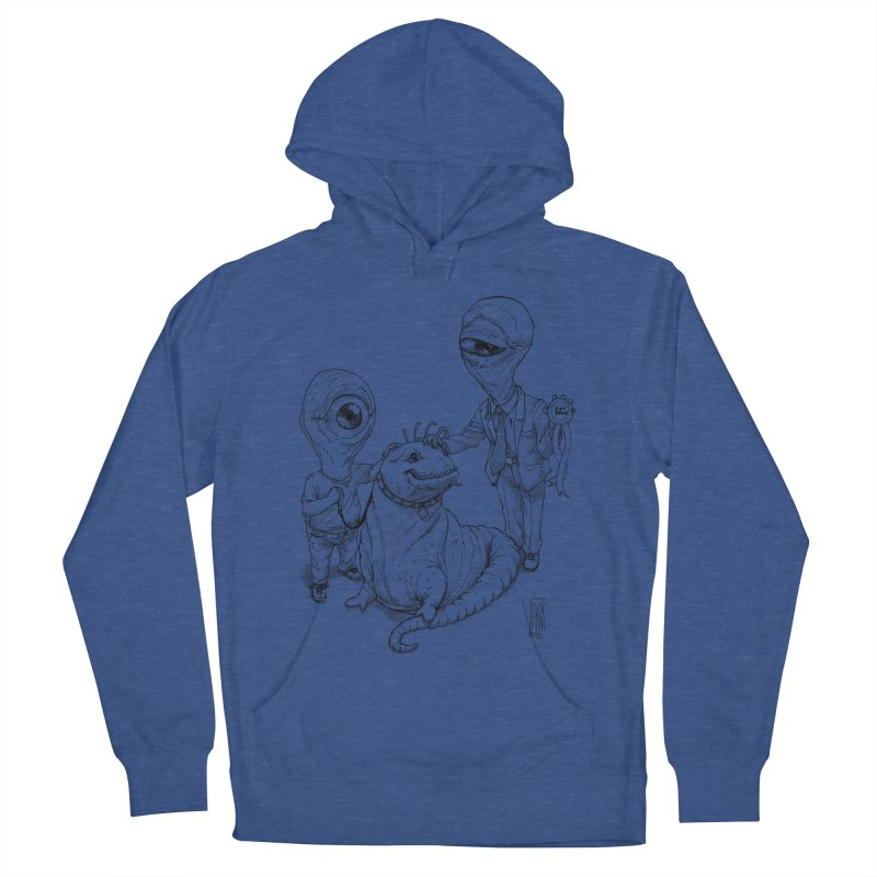 Beast in show Women's French Terry Pullover Hoody by Franky Nieves Shop
