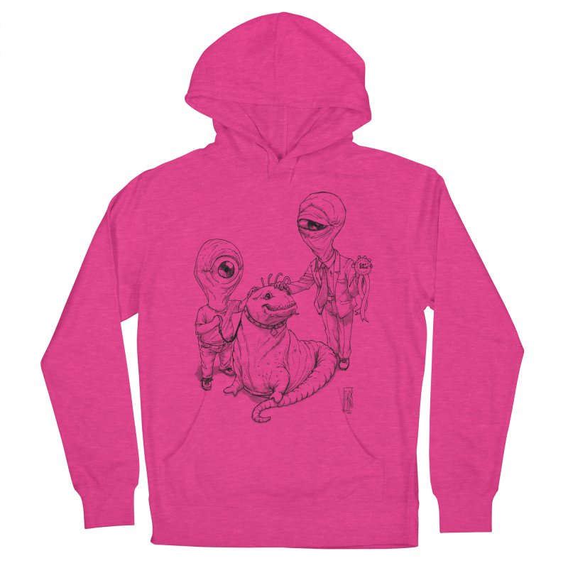 Beast in show Women's Pullover Hoody by Franky Nieves Shop