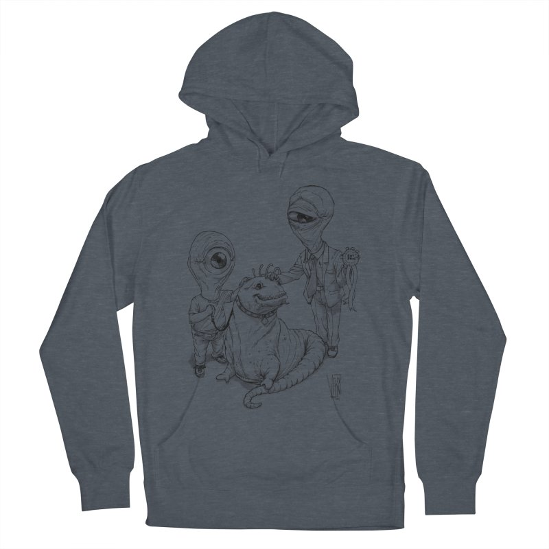 Beast in show Men's French Terry Pullover Hoody by Franky Nieves Shop