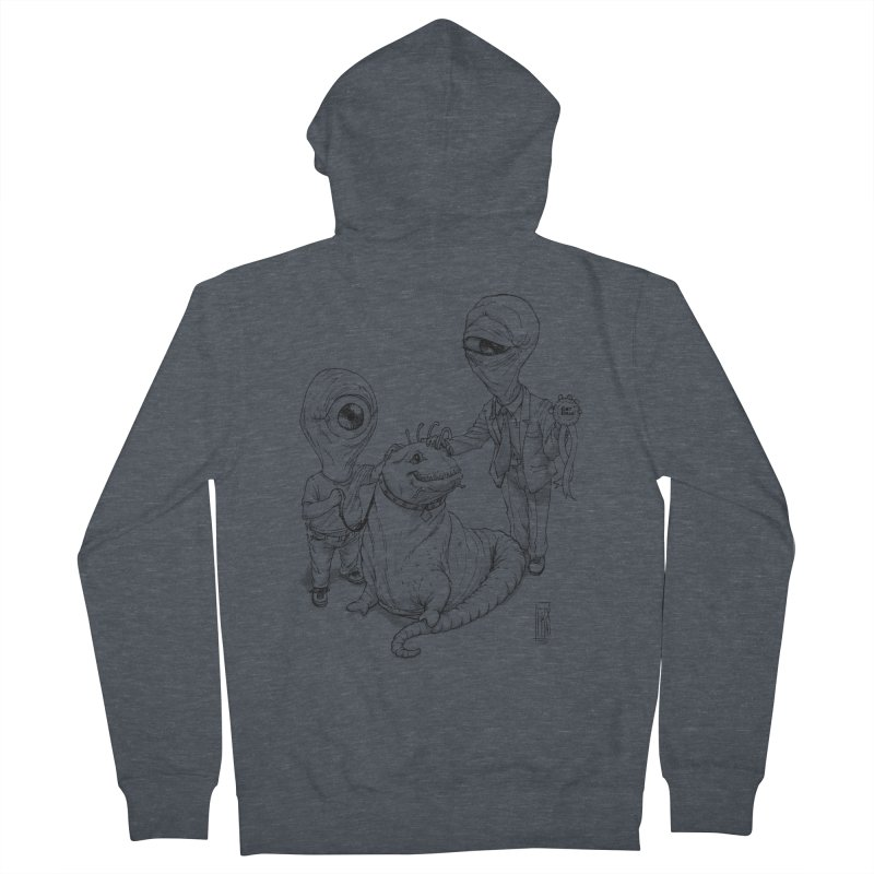 Beast in show Women's French Terry Zip-Up Hoody by Franky Nieves Shop