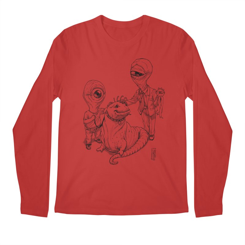 Beast in show Men's Regular Longsleeve T-Shirt by Franky Nieves Shop