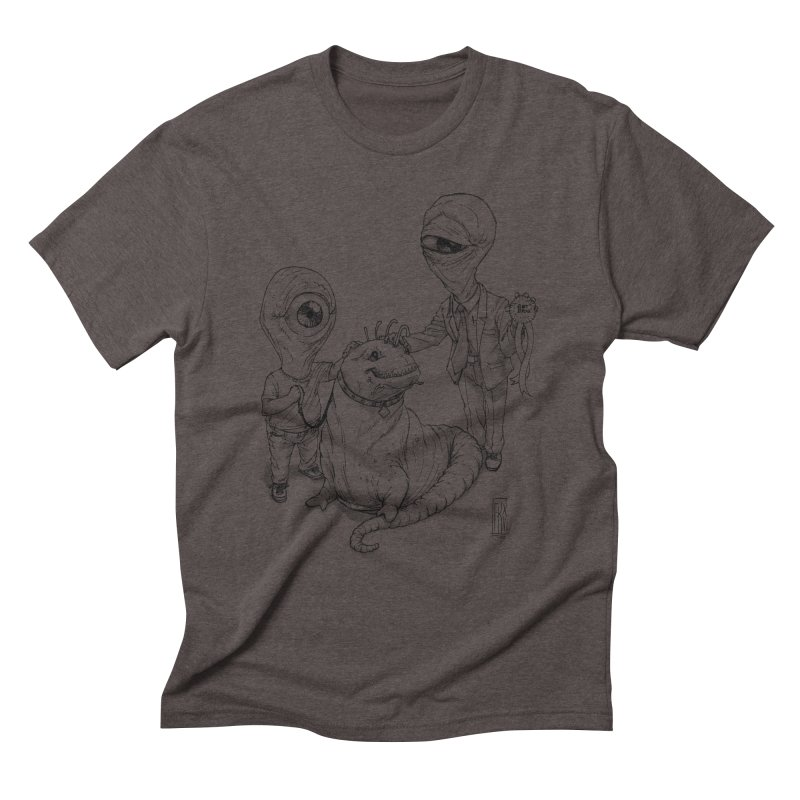 Beast in show Men's Triblend T-Shirt by Franky Nieves Shop
