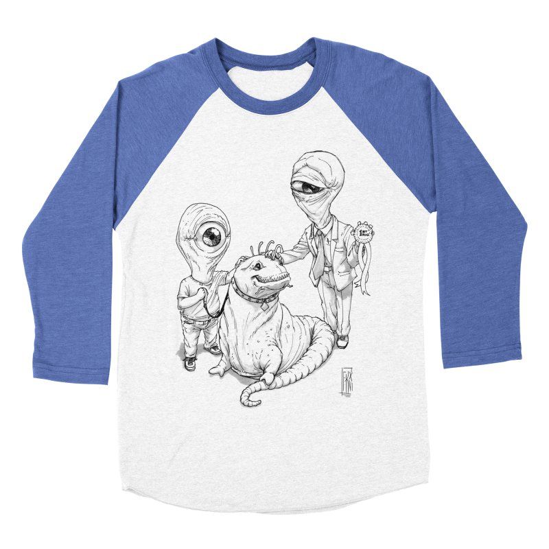 Beast in show Men's Baseball Triblend Longsleeve T-Shirt by Franky Nieves Shop