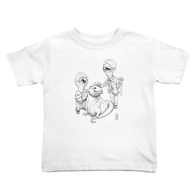 Beast in show Kids Toddler T-Shirt by Franky Nieves Shop