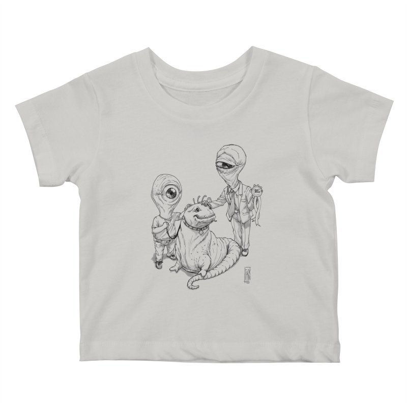 Beast in show Kids Baby T-Shirt by Franky Nieves Shop