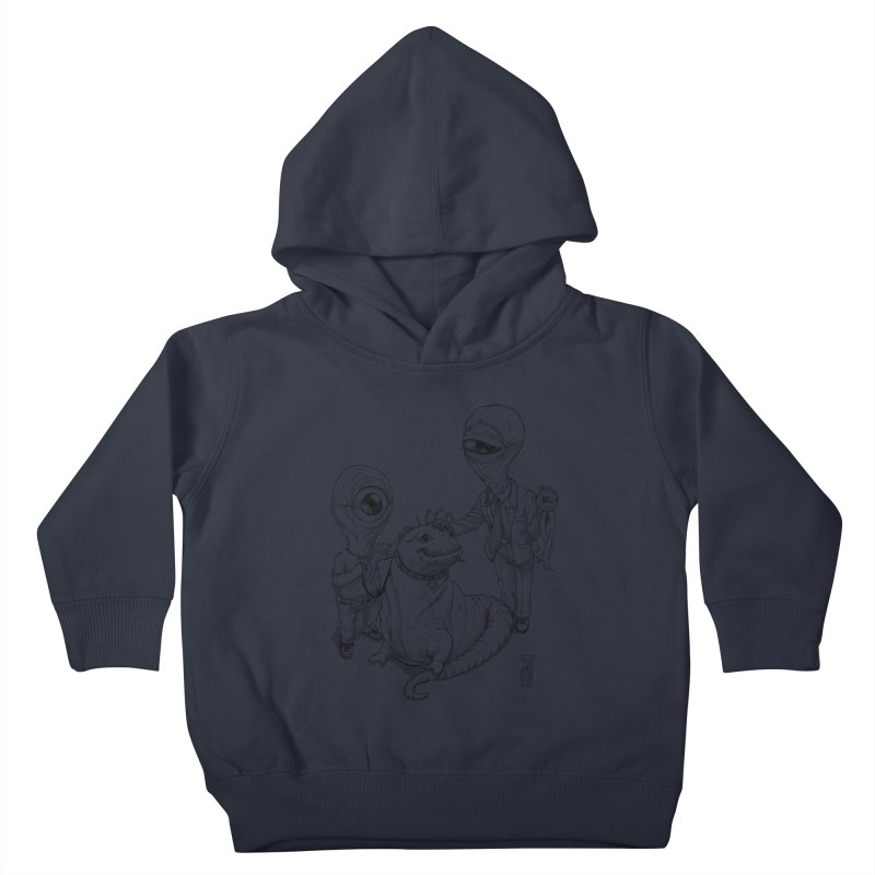 Beast in show Kids Toddler Pullover Hoody by Franky Nieves Shop