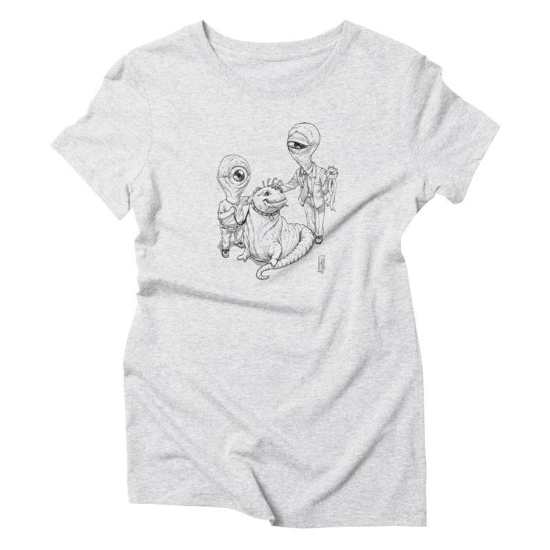Beast in show Women's T-Shirt by Franky Nieves Shop