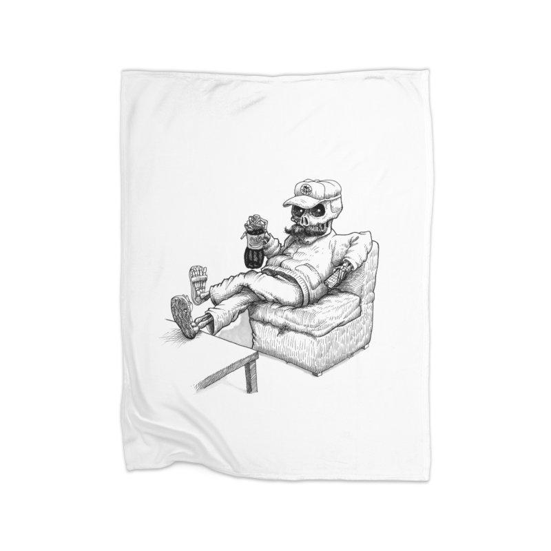 Resting pozole Home Fleece Blanket Blanket by Franky Nieves Shop