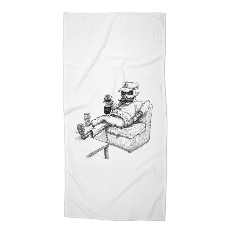 Resting pozole Accessories Beach Towel by Franky Nieves Shop