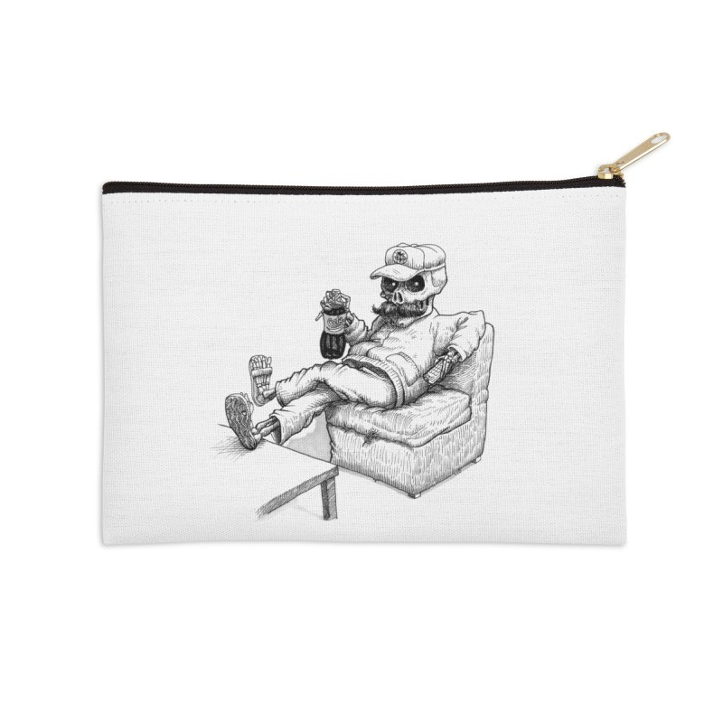 Resting pozole Accessories Zip Pouch by Franky Nieves Shop