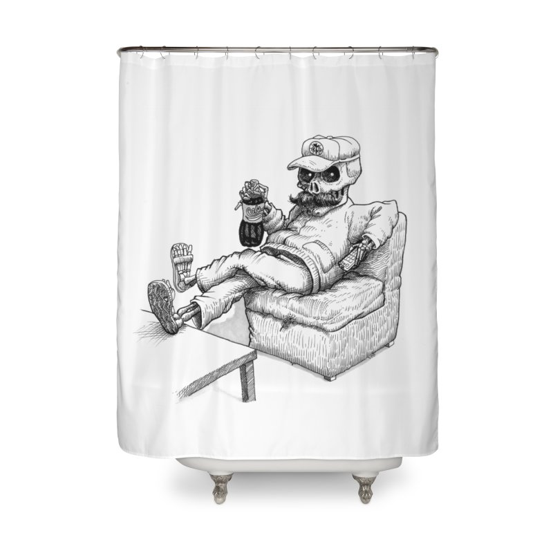 Resting pozole Home Shower Curtain by Franky Nieves Shop