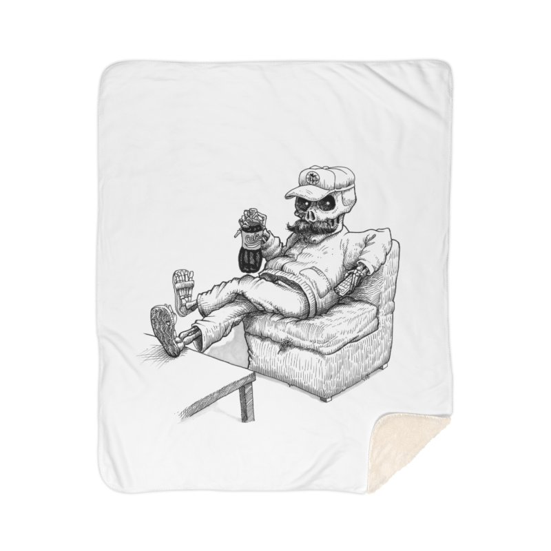 Resting pozole Home Sherpa Blanket Blanket by Franky Nieves Shop