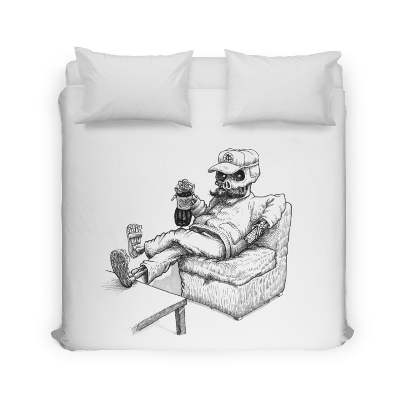 Resting pozole Home Duvet by Franky Nieves Shop