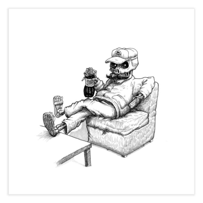 Resting pozole Home Fine Art Print by Franky Nieves Shop