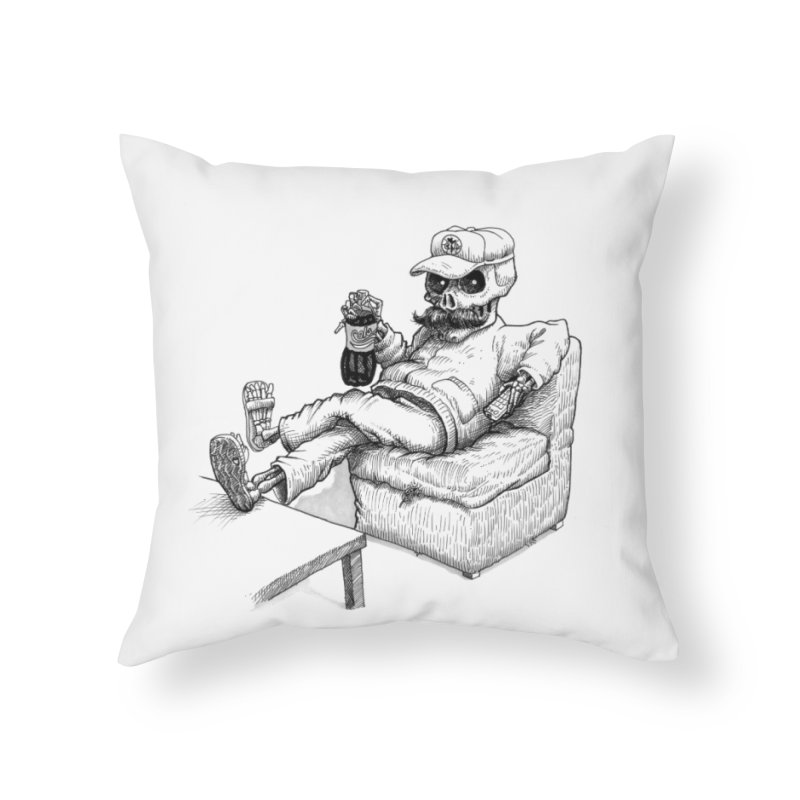 Resting pozole Home Throw Pillow by Franky Nieves Shop