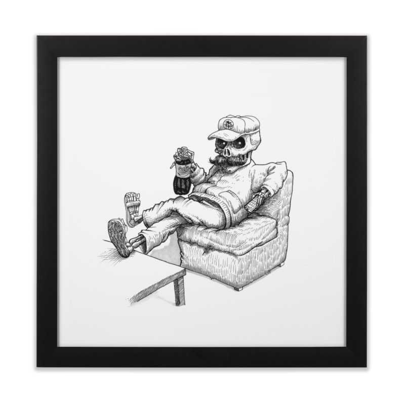 Resting pozole Home Framed Fine Art Print by Franky Nieves Shop