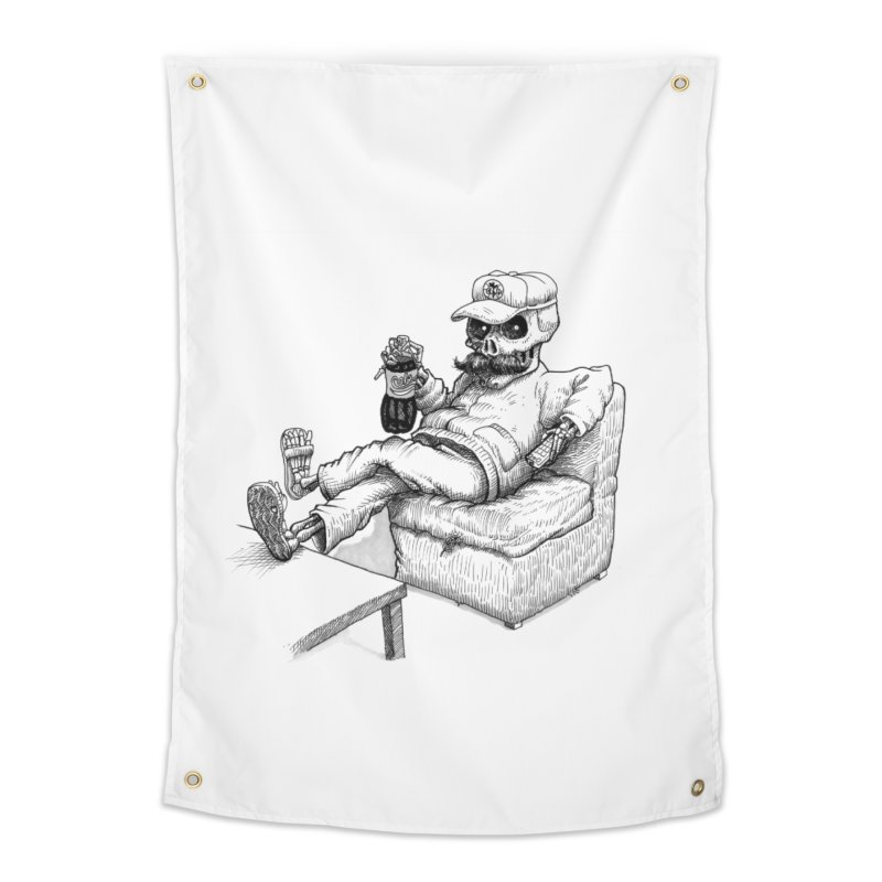 Resting pozole Home Tapestry by Franky Nieves Shop