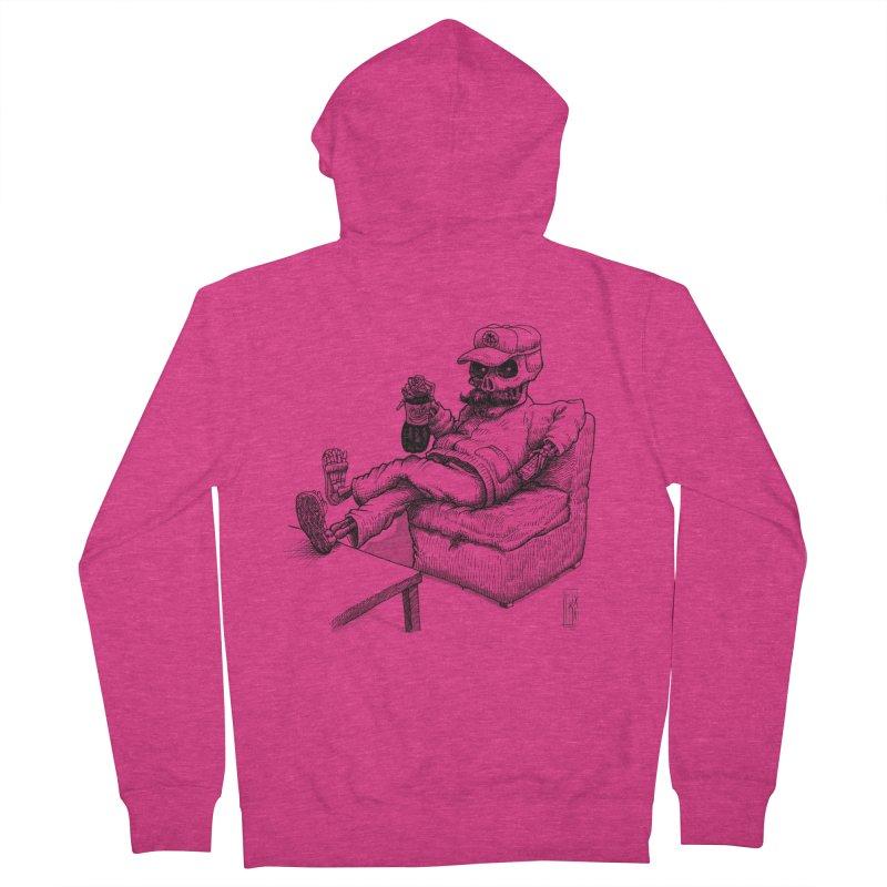 Resting pozole Women's Zip-Up Hoody by Franky Nieves Shop