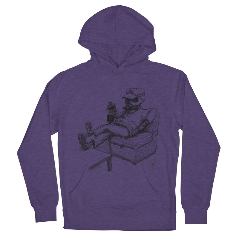 Resting pozole Men's French Terry Pullover Hoody by Franky Nieves Shop