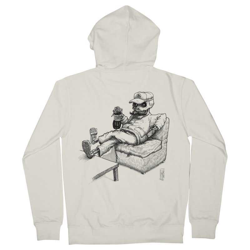 Resting pozole Men's Zip-Up Hoody by Franky Nieves Shop