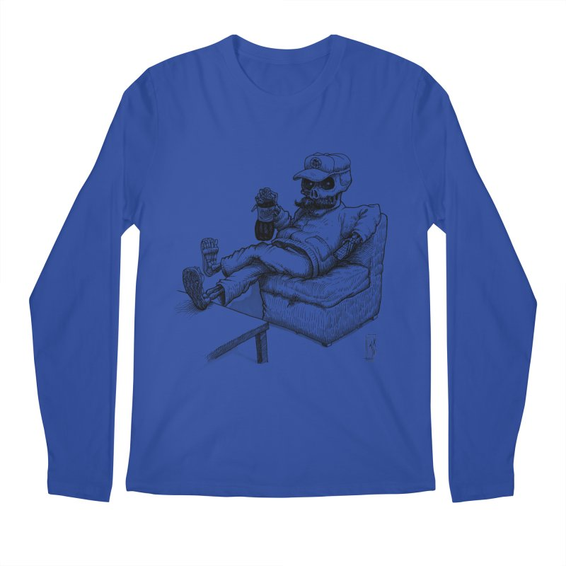 Resting pozole Men's Regular Longsleeve T-Shirt by Franky Nieves Shop