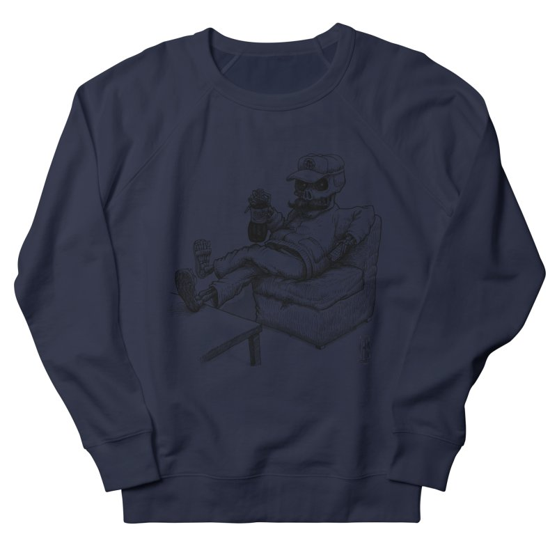 Resting pozole Men's French Terry Sweatshirt by Franky Nieves Shop