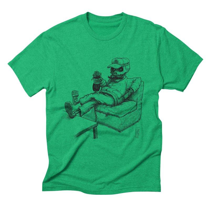 Resting pozole Men's Triblend T-Shirt by Franky Nieves Shop