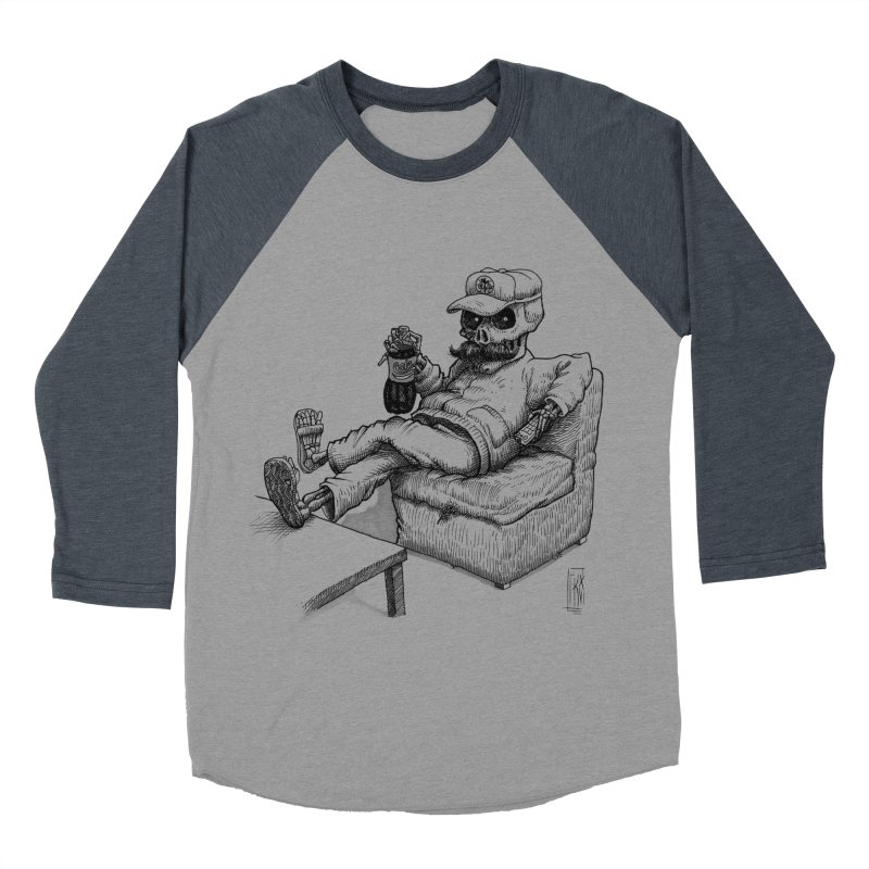 Resting pozole Women's Baseball Triblend T-Shirt by Franky Nieves Shop