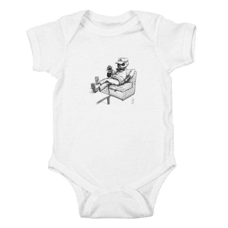 Resting pozole Kids Baby Bodysuit by Franky Nieves Shop