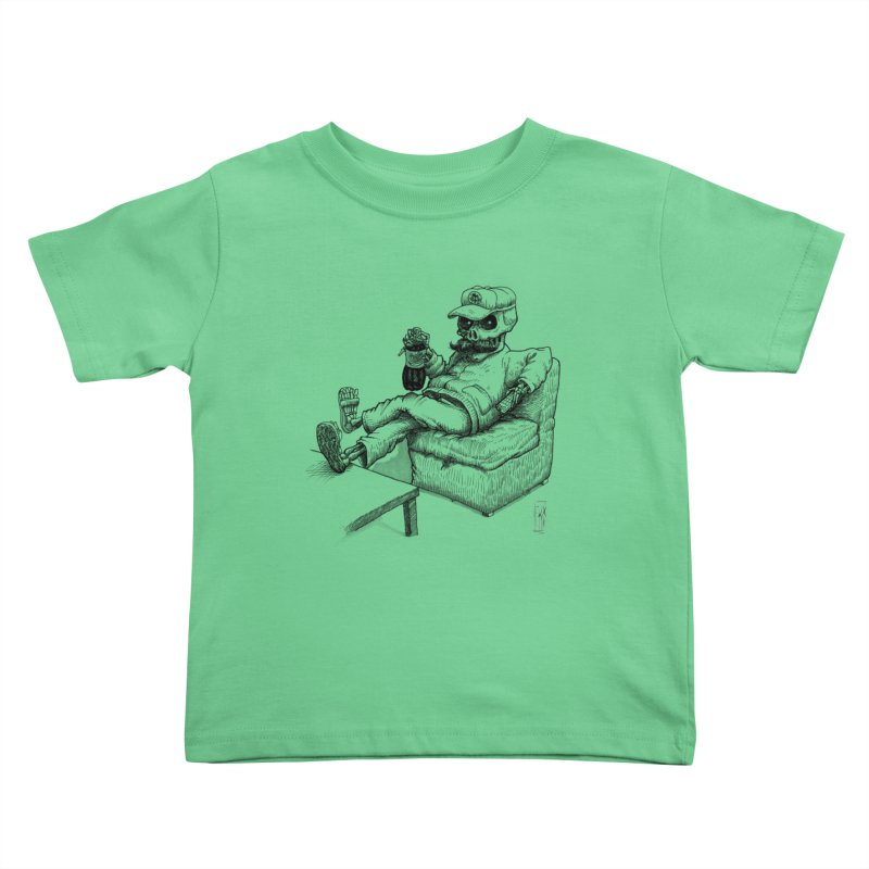 Resting pozole Kids Toddler T-Shirt by Franky Nieves Shop