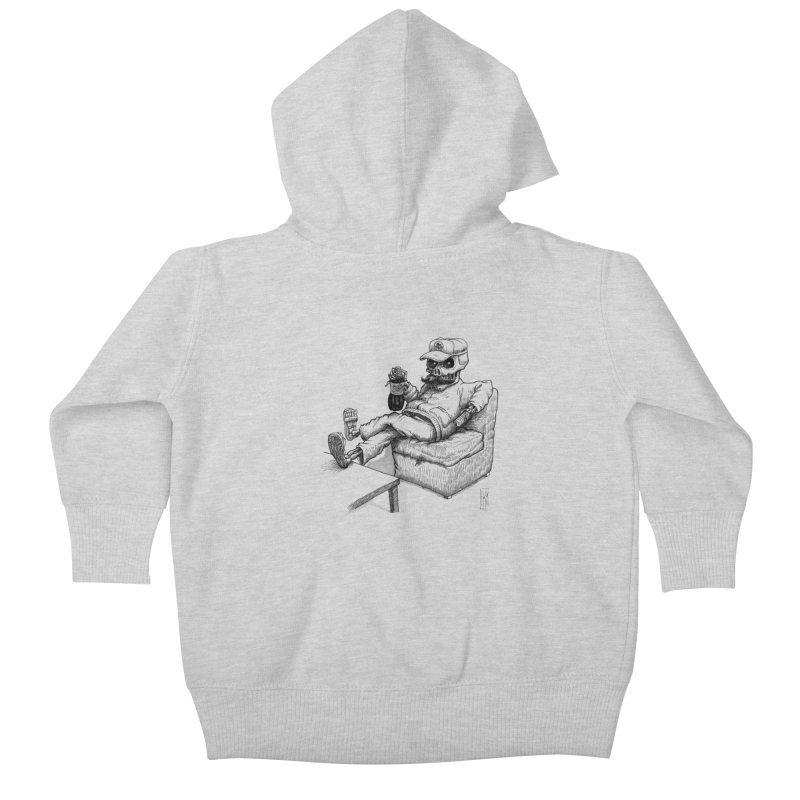 Resting pozole Kids Baby Zip-Up Hoody by Franky Nieves Shop