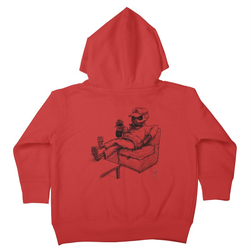 Resting pozole Kids Toddler Zip-Up Hoody by Franky Nieves Shop