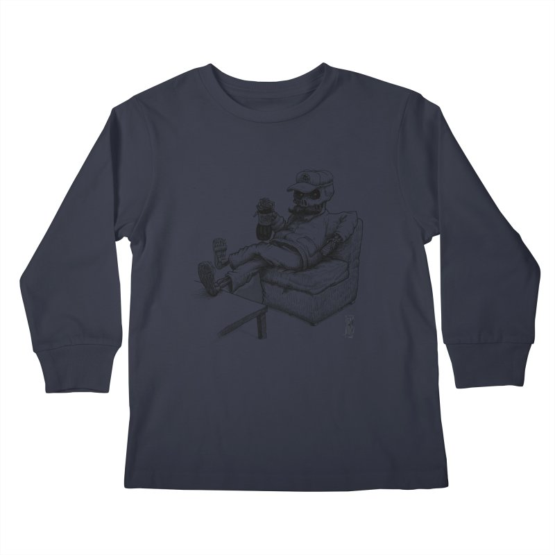 Resting pozole Kids Longsleeve T-Shirt by Franky Nieves Shop
