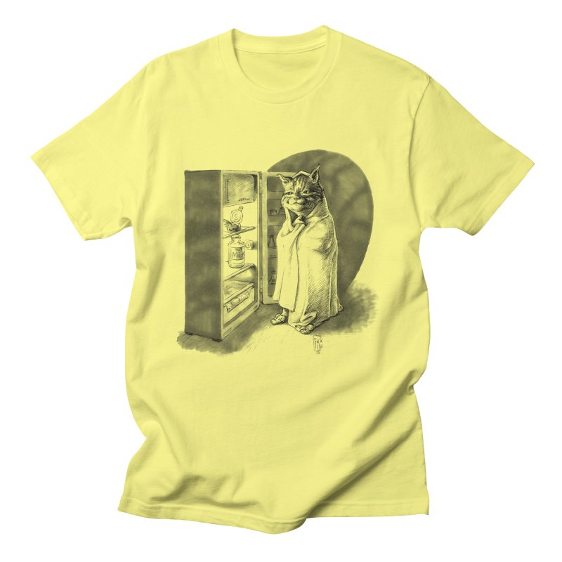 Midnight snack Men's Regular T-Shirt by Franky Nieves Shop
