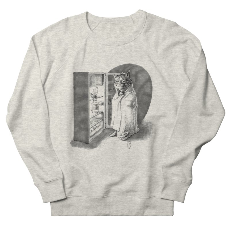 Midnight snack Women's French Terry Sweatshirt by Franky Nieves Shop