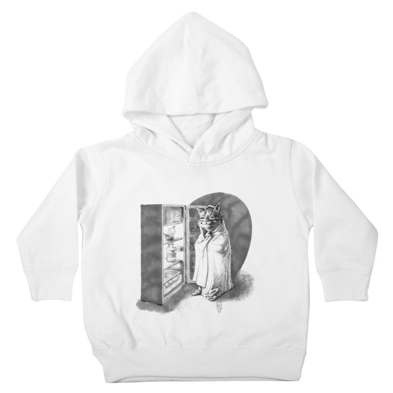 Midnight snack Kids Toddler Pullover Hoody by Franky Nieves Shop