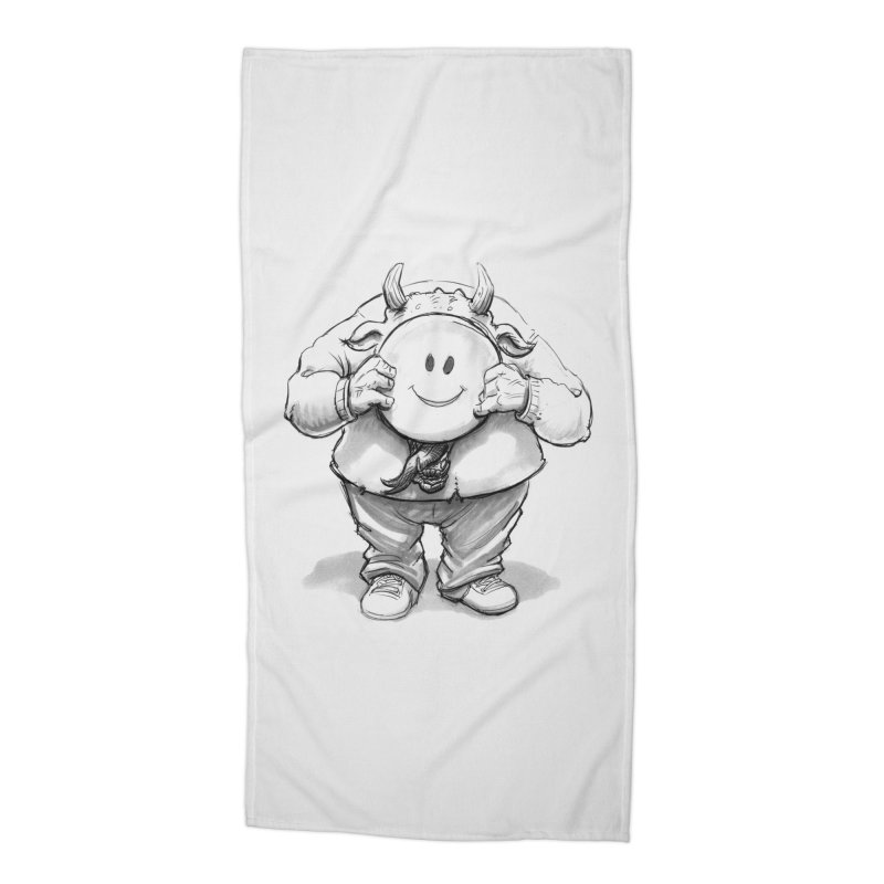 That smiley demon! Accessories Beach Towel by Franky Nieves Shop